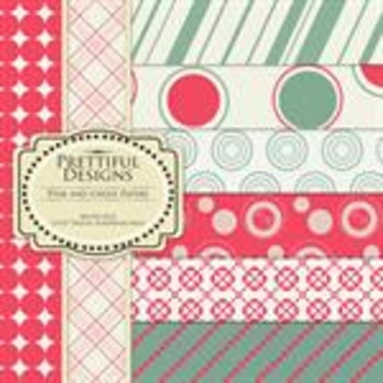 Pink and Green Paper Pack