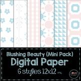 Blushing Beauty Mini Pack Digital Paper