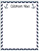 Pink and Navy Nautical Classroom Theme