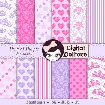 Digital Paper - Princess