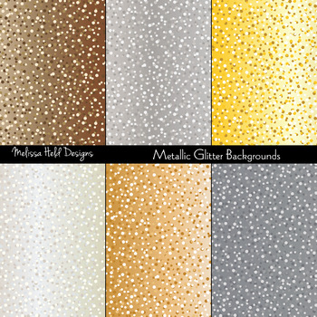 Metallic Glitter Textured Background Patterns