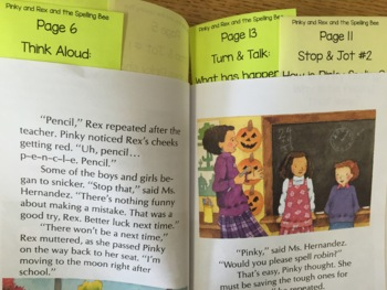 Reading Comprehension & Interactive Read Aloud with Pinky and Rex and the Bully
