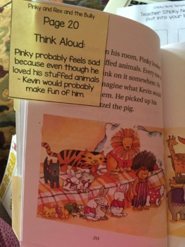 Reading Comprehension & Interactive Read Aloud with Pinky and Rex School Play