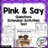 Pink and Say Activities, Civil War stories