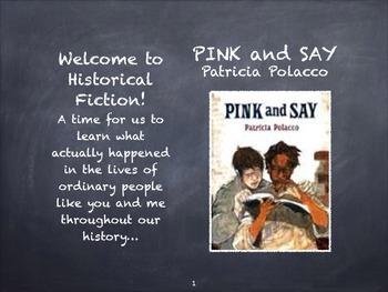 Pink and Say by Patricia Polacco    Constructing a Sense o