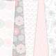 Pink and gray Floral Digital Paper vector patterns - dahlia flower backgrounds