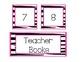 Pink/Zebra Leveled Library Labels