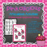 Pinkalicious Artic Activities-Articulation Activities for