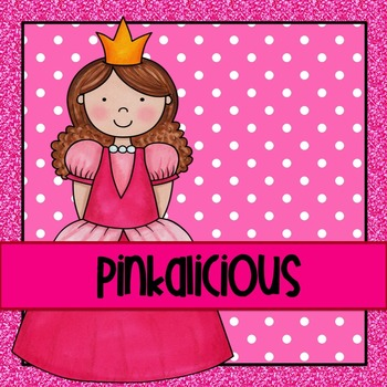 Pinkalicious HUGE Packet of Literacy and Math Activities a