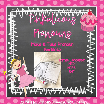 "Pinkalicious Pronouns- Teaching the pronouns ""HERS"""