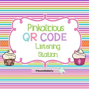Pinkalicious QR Code Listening Station
