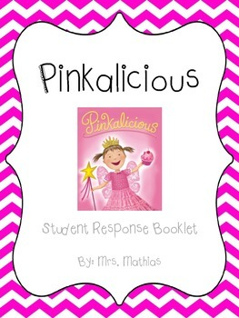 Pinkalicious Student Response Booklet