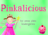 Pinkalicious Vocabulary