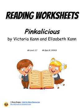 Pinkalicious  by Victoria Kann and Elizabeth Kann  Reading