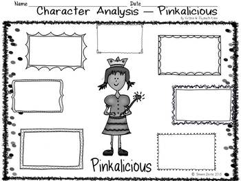 Reading Skills and Strategies inspired by Pinkalicious