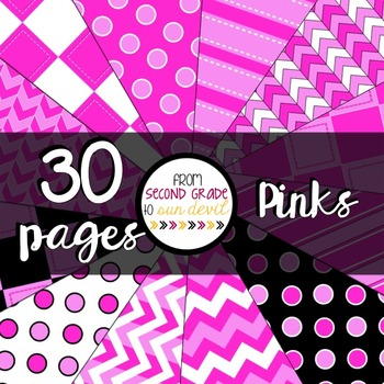 Pinks Digital Paper