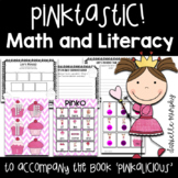 Pinkalicious Companion Literacy Comprehension Phonics and Math Activities