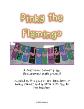 Pinky Flamingo a Geometry and Measurement Masterpiece