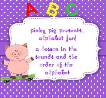 Pinky Pig's ALPHABET Fun
