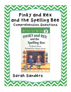 Pinky and Rex Comprehension Questions