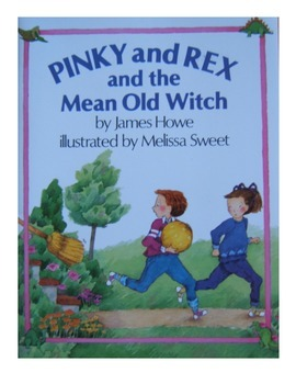 Pinky and Rex and the Mean Old Witch, comprehension questions and answers