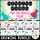 Pinning Pages All Year Bundle