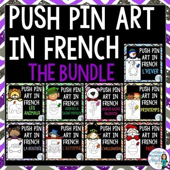 Pinning Pages in French BUNDLE
