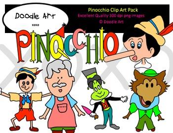 Pinocchio Clipart Pack