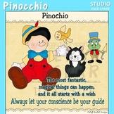 Pinocchio Fable Clip Art C Seslar