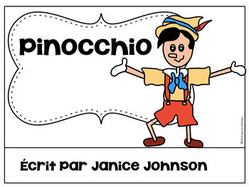 Pinocchio French Reader ~ Simplified for Language Learners