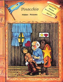 Pinocchio, Hidden Pictures