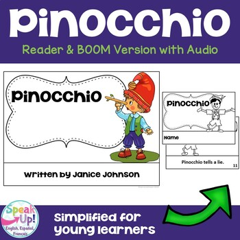 Pinocchio Reader ~ Simplified for Young Learners