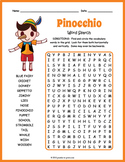 Pinocchio Word Search