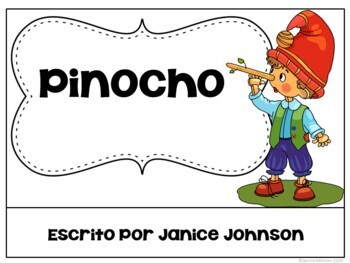 Pinocho Spanish Reader ~ Pinoccho Simplified for Language Learners