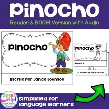 Pinocho Spanish Reader ~ Pinoccho Simplified for Language