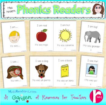 Phonics Readers English and Spanish