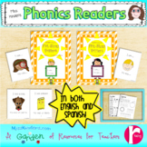 Phonics Readers English and Spanish