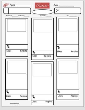 Pinterest Style Report Board