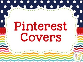 Pinterest Board Cover Photos Editable