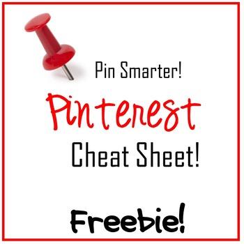 Pinterest Cheat Sheet Freebie! - Editable