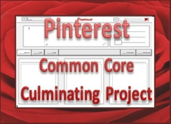 Pinterest Common Core Culminating Project