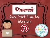 Pinterest Guide for Music Educators