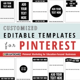 Pinterest Image Templates: Customized