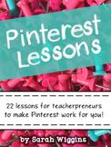 Pinterest Lessons for TpT Sellers Ebook