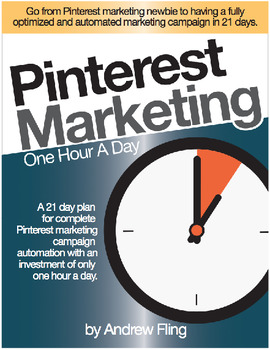 Pinterest Marketing :: 21-Day Plan for Marketing Campaign Automation (Free Book)