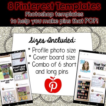 Pinterest Pin - Photoshop Templates
