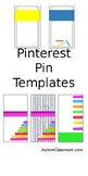 Pinterest Pin Templates for TpT Sellers ---Pinterest Boards