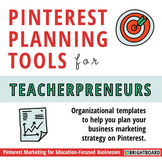 Pinterest Planner for TpT Sellers