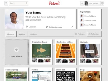 Pinterest powerpoint template by innovativeclassroom tpt pinterest powerpoint template toneelgroepblik Image collections
