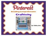 Pinterest Reading Comprehension Craftivity